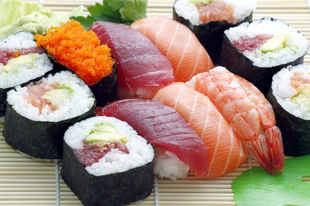 Historia sushi
